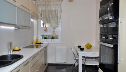 nowoczesna kuchnia w mieszkaniu do sprzedaży Wrocław Psie Pole