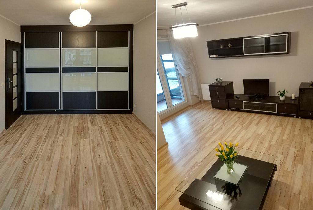 komfortowe wnętrze mieszkania na sprzedaż Wrocław Psie Pole