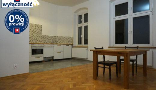 kuchnia w zabudowie znajdująca się w mieszkaniu do wynajęcia Wrocław Stare Miasto