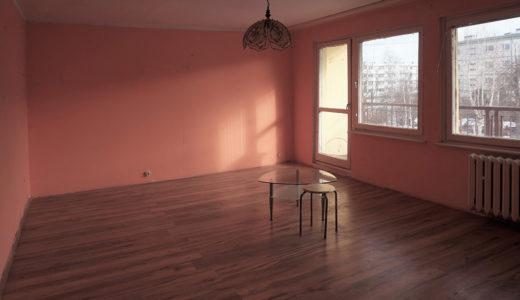 salon w mieszkaniu na sprzedaż Wrocław (okolice)
