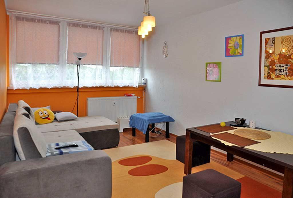 fragment salonu w mieszkaniu do wynajmu Wrocław okolice