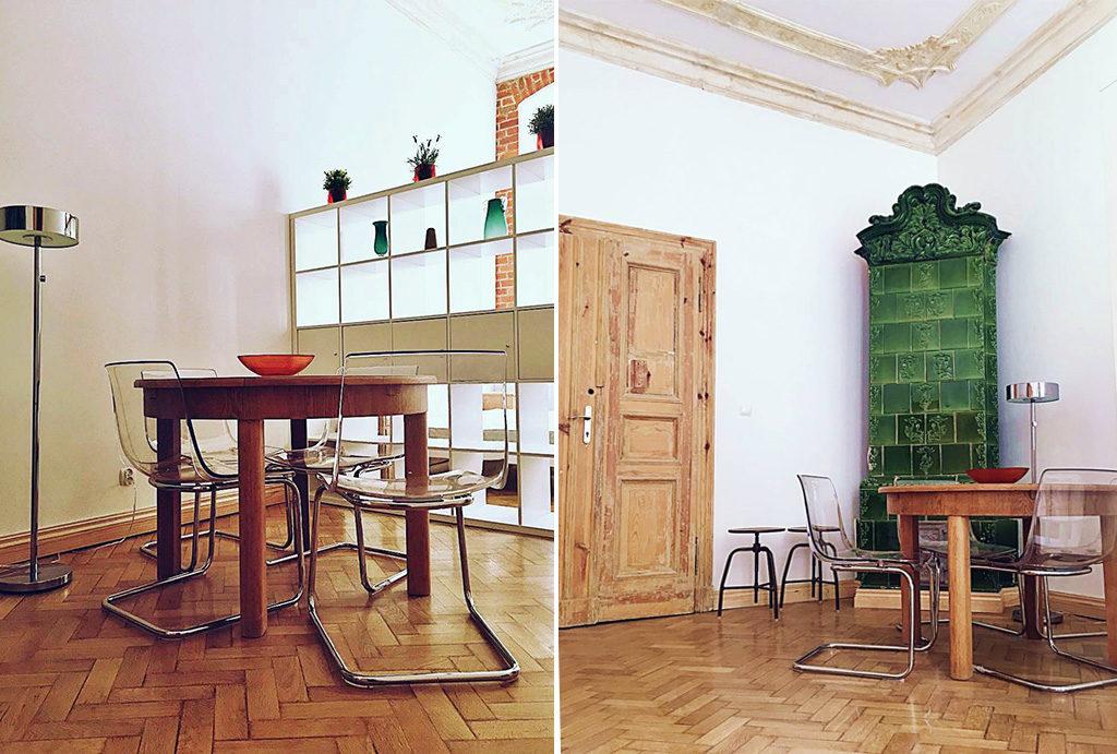 komfortowe i oryginalne wnętrze mieszkania na wynajem Wrocław Śródmieście