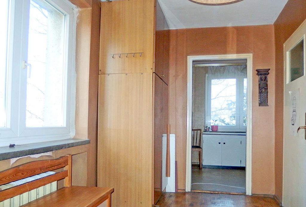 przestronny przedpokój w mieszkaniu na sprzedaż Wrocław Krzyki