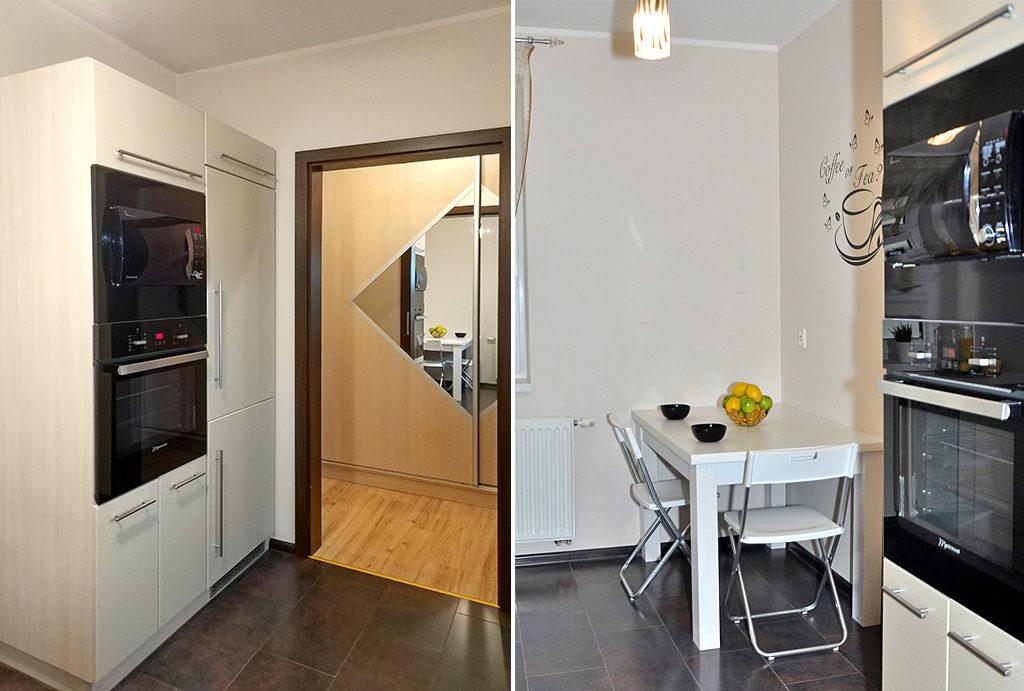 elegancka kuchnia w mieszkaniu na sprzedaż Wrocław Psie Pole