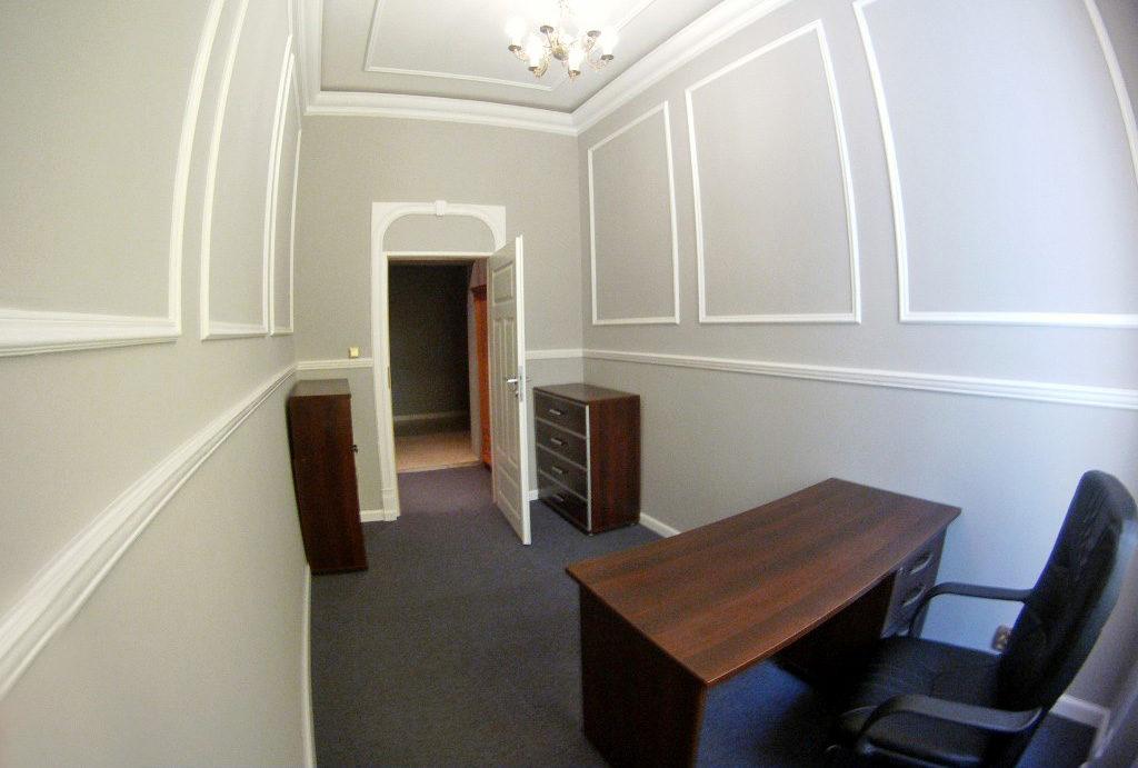 widok na gabinet w mieszkaniu na sprzedaż Wrocław Stare Miasto