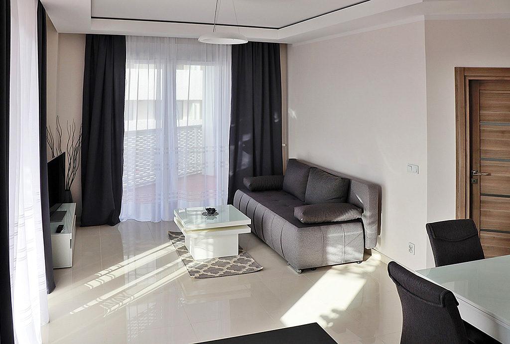 elitarny, prestiżowy salon w mieszkaniu do wynajmu Wrocław Stare Miasto