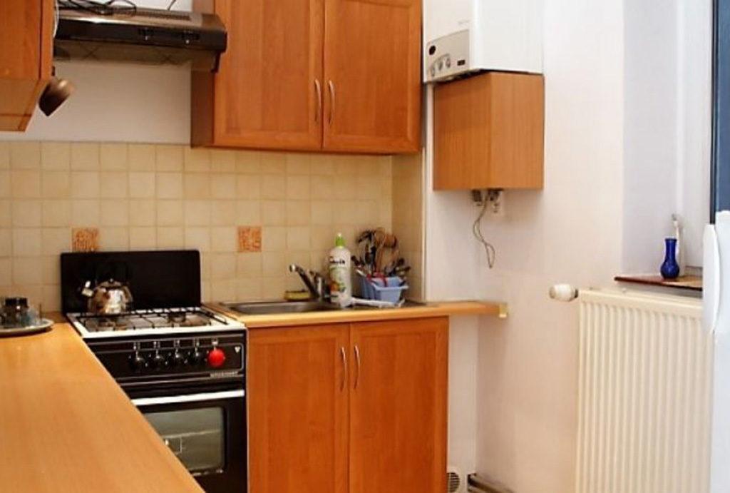 zabudowana kuchnia w mieszkaniu do sprzedaży Wrocław Śródmieście