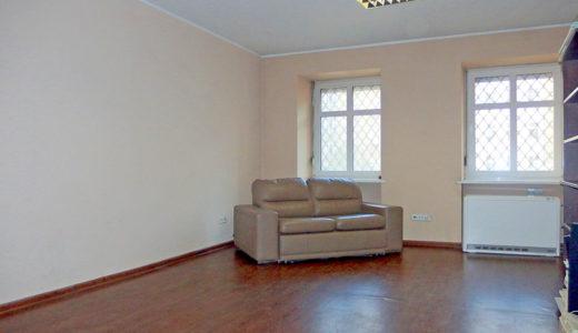 widok na salon w mieszkaniu na sprzedaż Wrocław, Śródmieście