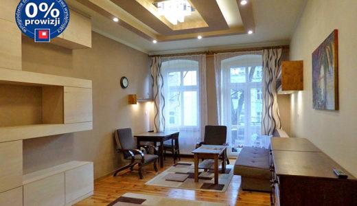 nowoczesny salon w mieszkaniu do wynajęcia Wrocław Śródmieście