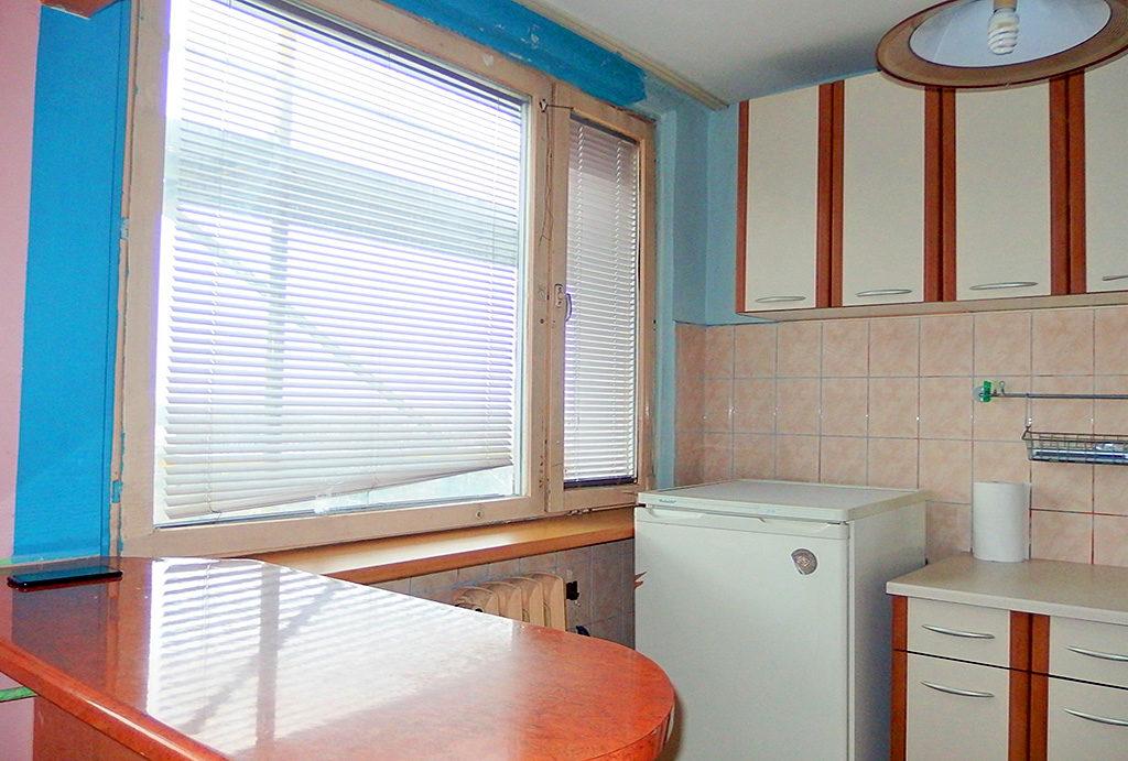 funkcjonalna, praktycznie zabudowa kuchnia w mieszkaniu na sprzedaż Wrocław Fabryczna