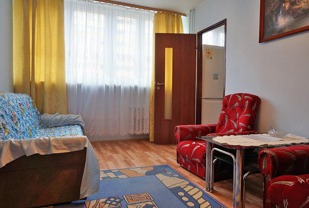 widok na jeden z pokoi w mieszkaniu na wynajem Wrocław Krzyki