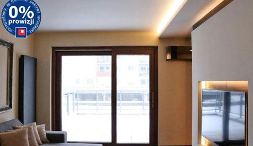 prestiżowe wnętrze salonu w mieszkaniu na sprzedaż Wrocław Psie Pole