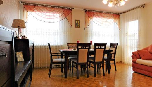 urządzone w stylu klasycznym wnętrze mieszkania na sprzedaż Wrocław (okolice)