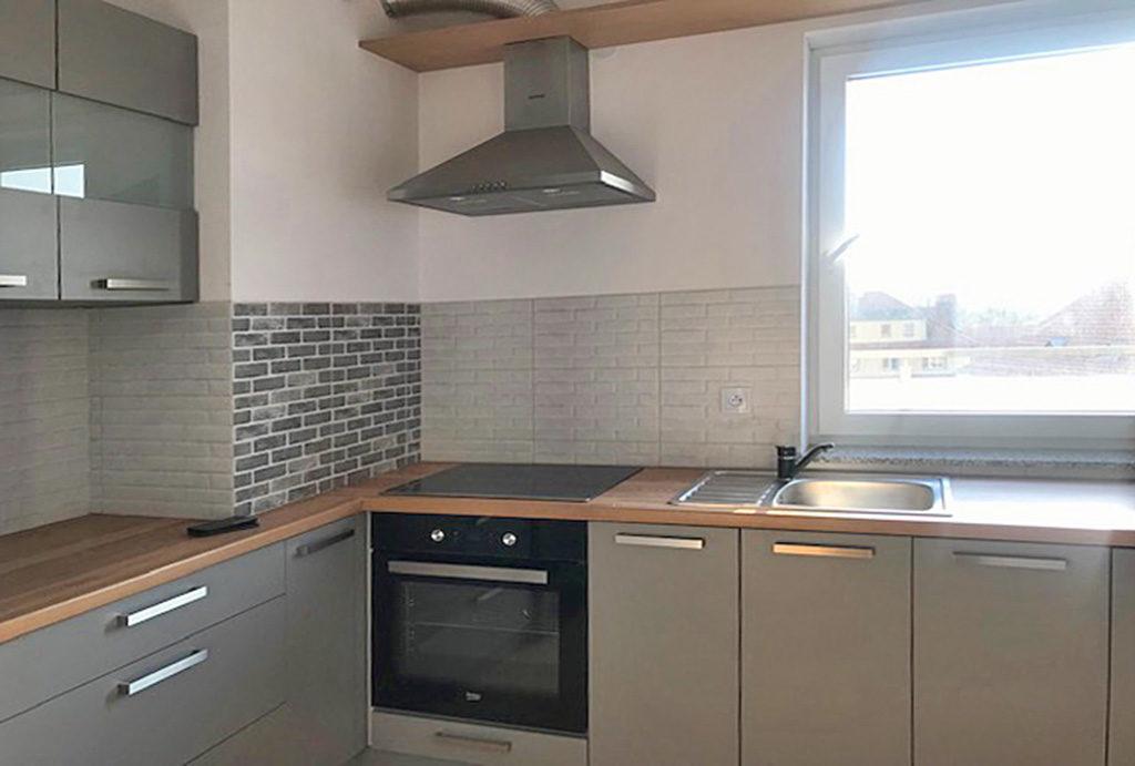 zabudowana kuchnia w mieszkaniu na wynajem Wrocław Krzyki