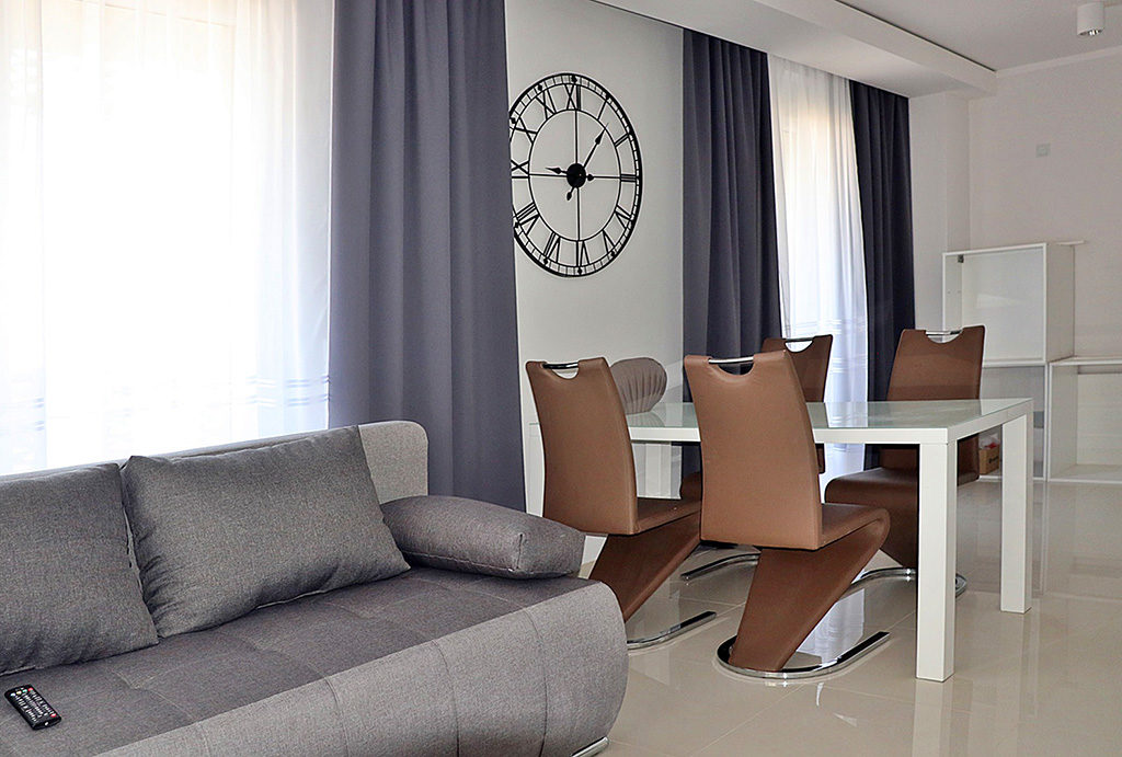 ekskluzywne wnętrze salonu w mieszkaniu do wynajęcia Wrocław Stare Miasto