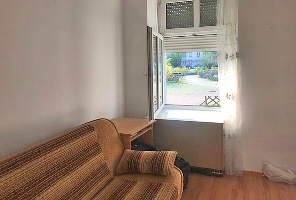 fragment sypialni w mieszkaniu do sprzedaży Wrocław Śródmieście
