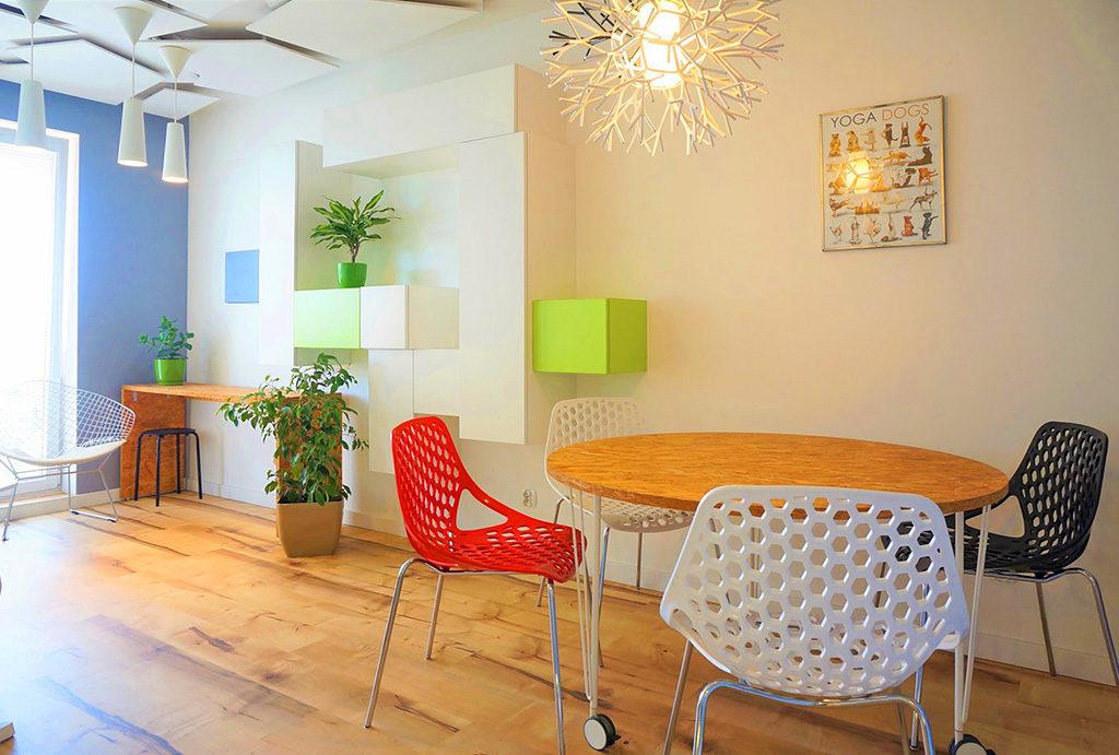 zaprojektowane w nowoczesnym designie wnętrze mieszkania na sprzedaż Wrocław Fabryczna