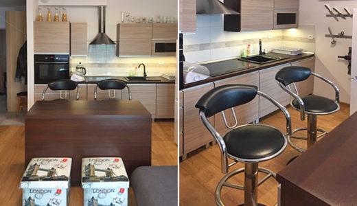 aneks kuchenny w mieszkaniu na wynajem Wrocław Fabryczna