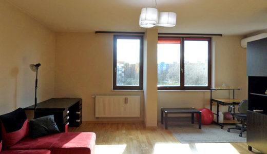 zaprojektowane w nowoczesnym designie wnętrze mieszkania do wynajmu Wrocław Fabryczna