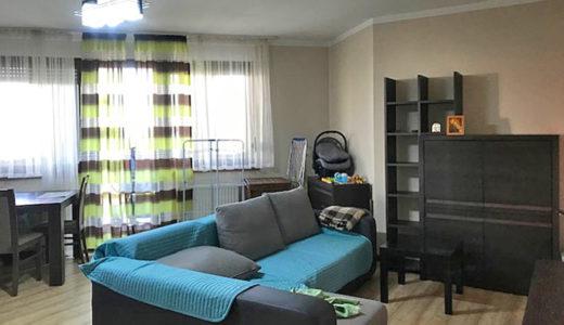elegancki salon w mieszkaniu na sprzedaż Wrocław Krzyki