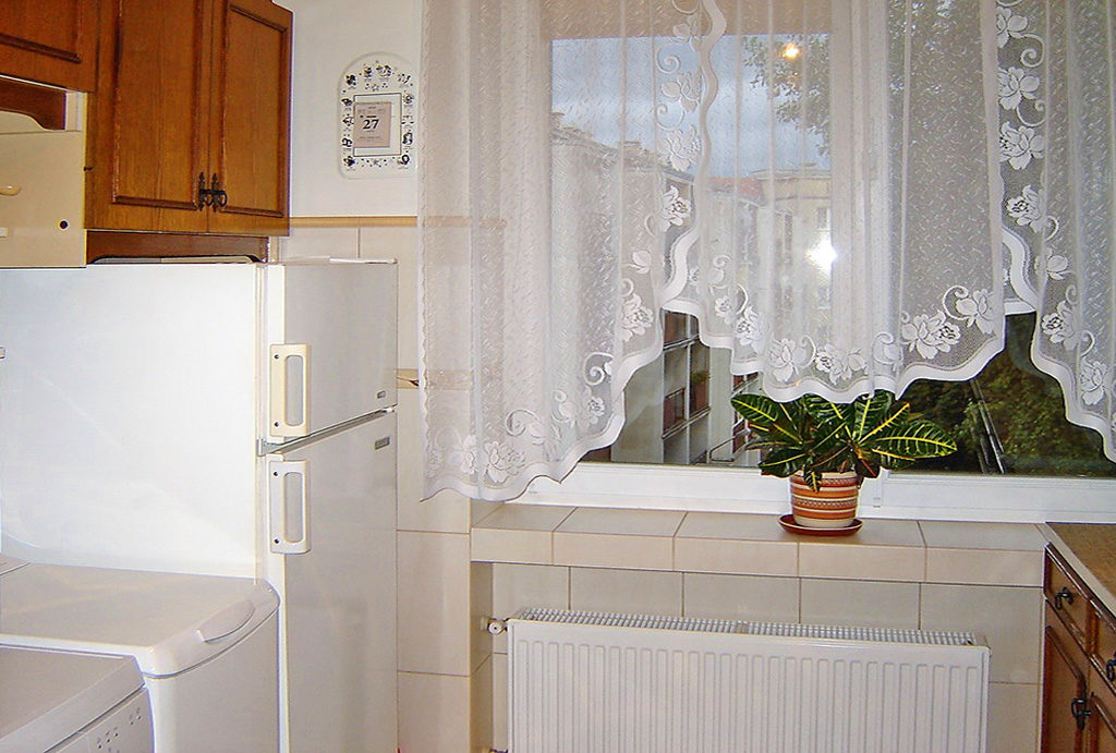 urządzona i funkcjonalna kuchnia w mieszkaniu do wynajęcia Wrocław Stare Miasto