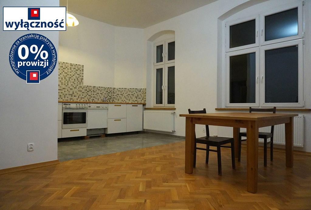 funkcjonalny aneks kuchenny w mieszkaniu do wynajęcia Wrocław Stare Miasto