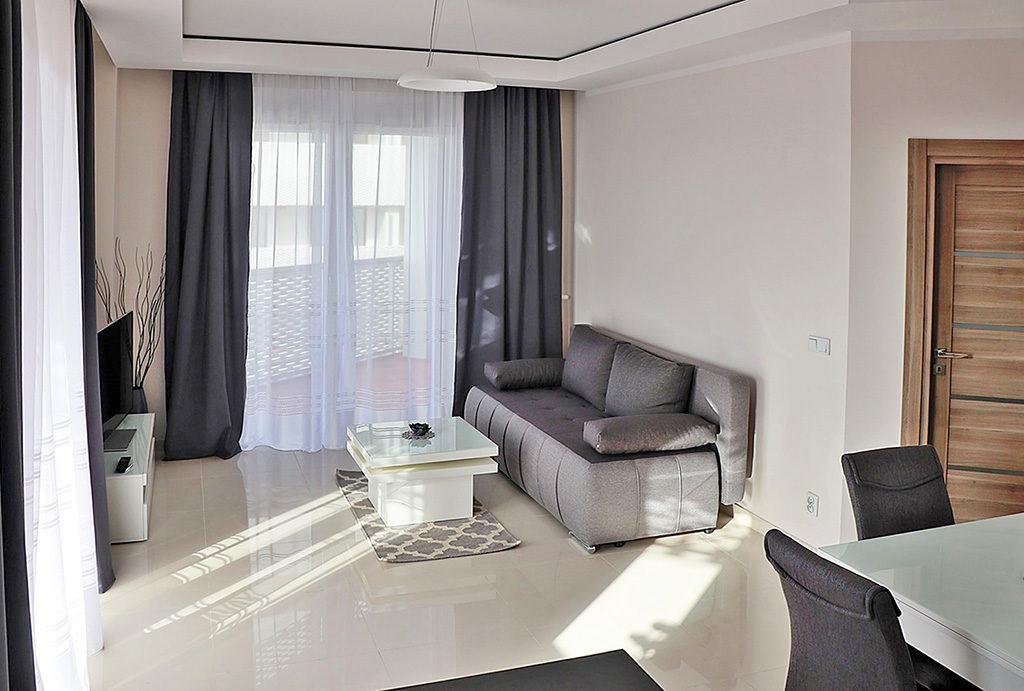 ekskluzywny salon w mieszkaniu do wynajmu Wrocław Stare Miasto