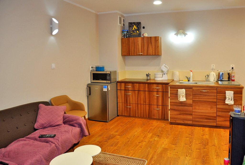 widok na komfortowe wnętrze mieszkania do sprzedaży Wrocław (okolice)