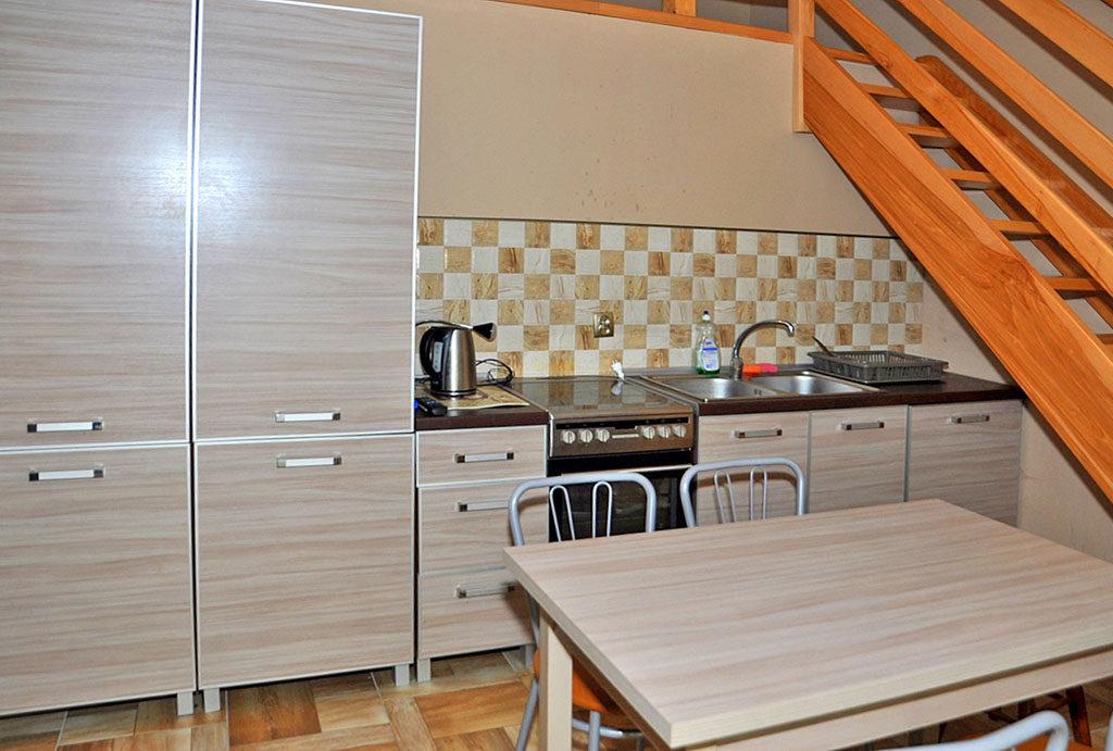 funkcjonalnie urządzona i zabudowana kuchnia w mieszkaniu do wynajmu Wrocław okolice
