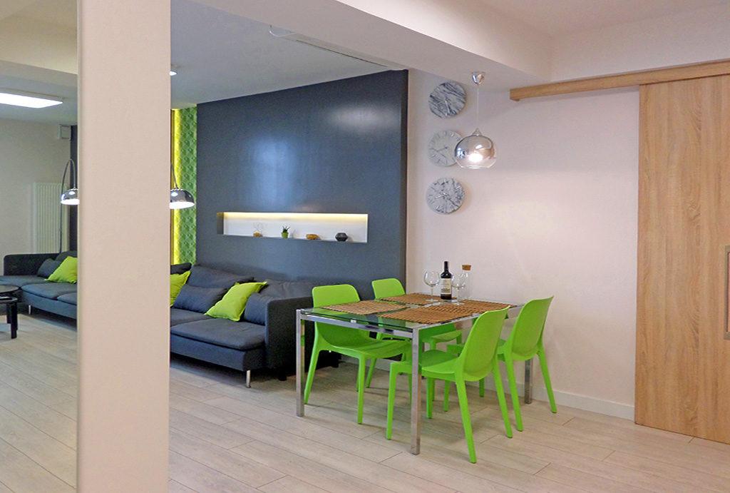 zaprojektowane w nowoczesnym stylu mieszkanie do wynajmu Wrocław Śródmieście