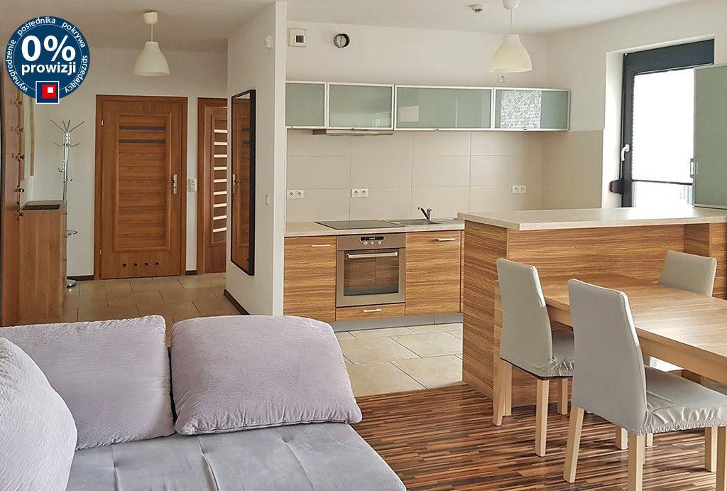 zaprojektowane w nowoczesnym stylu wnętrze mieszkania do wynajmu Wrocław Fabryczna