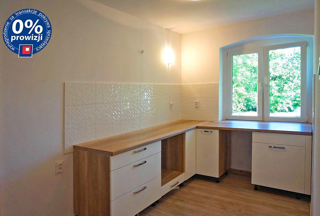 zabudowana kuchnia w mieszkaniu do sprzedaży Wrocław Fabryczna