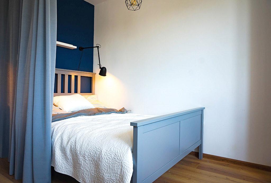 prywatna, zaciszna sypialnia w mieszkaniu na sprzedaż Wrocław Fabryczna
