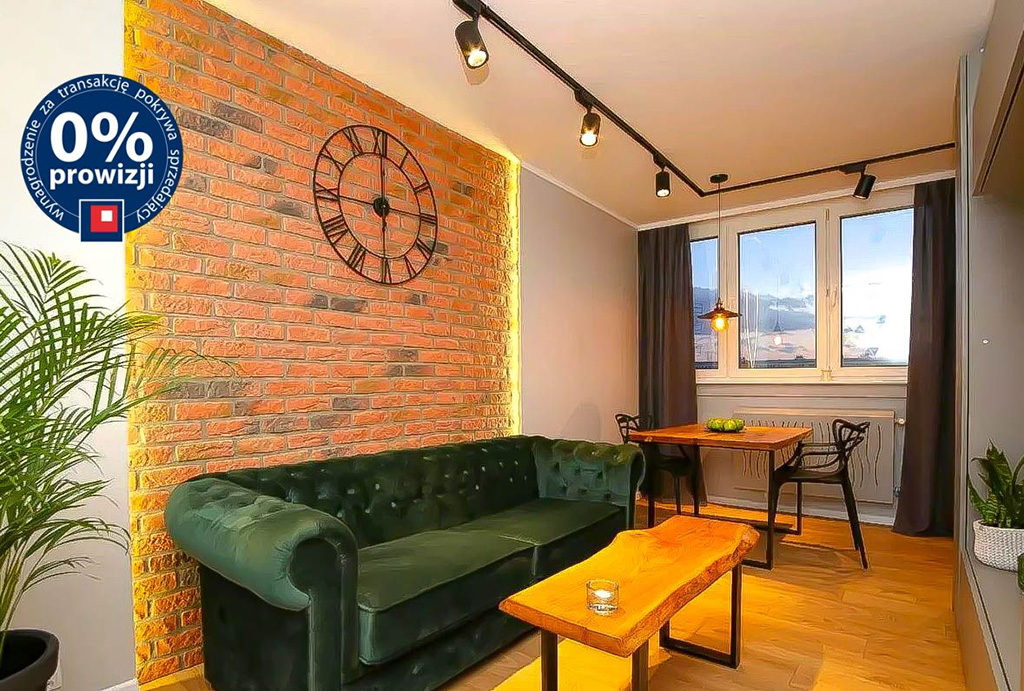 prestiżowy salon w mieszkaniu na sprzedaż Wrocław Fabryczna