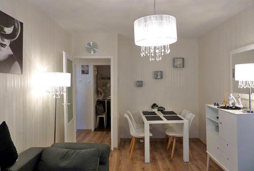 funkcjonalna, zadbana jadalnia w mieszkaniu do wynajęcia Wrocław Krzyki