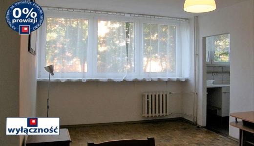 widok na salon w mieszkaniu na sprzedaż Wrocław Krzyki
