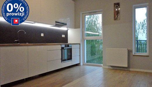 widok na aneks kuchenny w mieszkaniu do wynajęcia Wrocław Leśnica