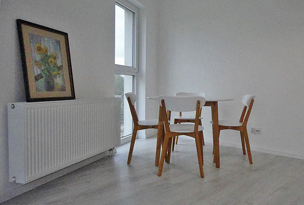 na zdjęciu jadalnia w mieszkaniu na wynajem Wrocław Leśnica