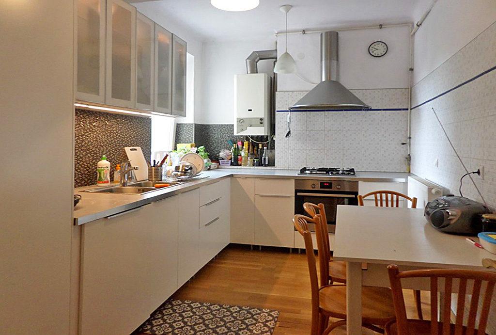 nowocześnie zaaranżowana kuchnia w mieszkaniu do sprzedaży Wrocław Krzyki