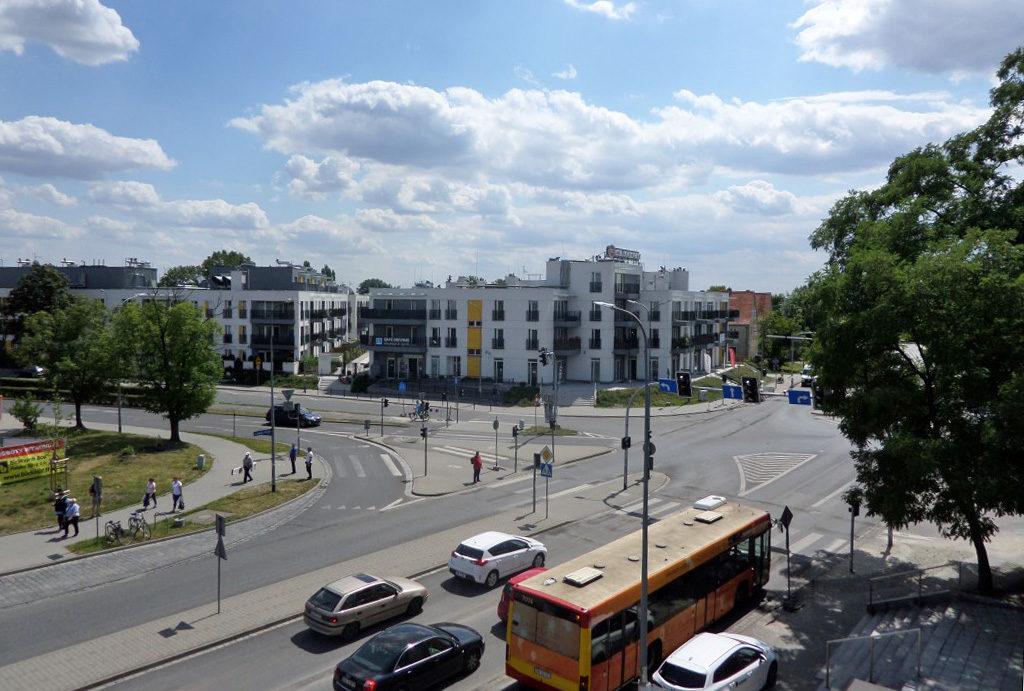 prestiżowa lokalizacja i widok z balkonu w mieszkaniu na wynajem Wrocław Krzyki