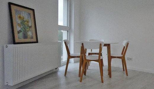 elegancka jadalnia w mieszkaniu do wynajęcia Wrocław Leśnica
