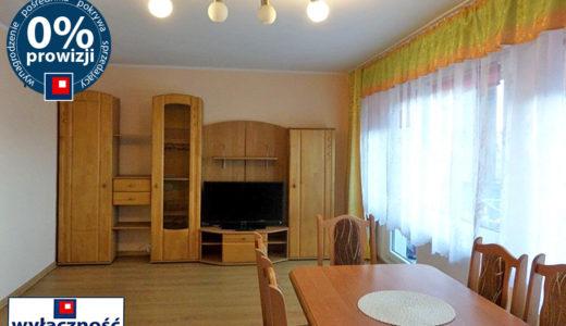 imponujący salon w mieszkaniu na wynajem Wrocław Psie Pole