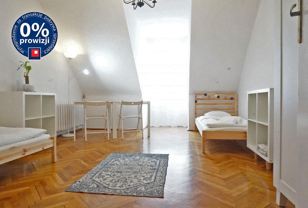 przestronne, słoneczne, utrzymane w jasnych barwach wnętrze mieszkania na sprzedaż Wrocław Stare Miasto