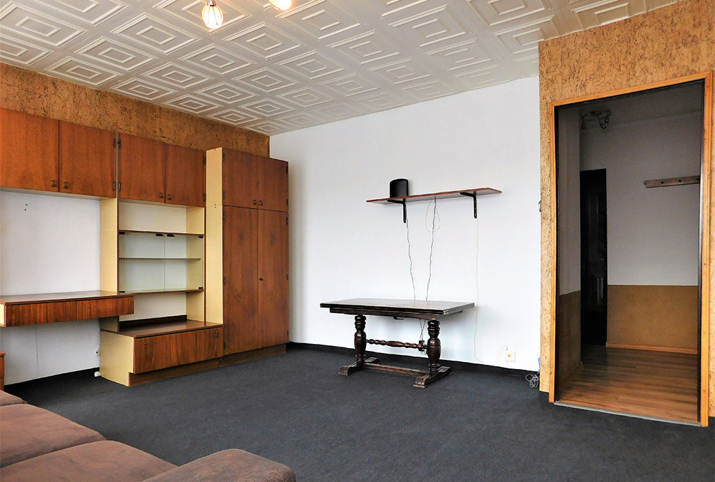 na zdjęciu salon w mieszkaniu do wynajmu Wrocław okolice