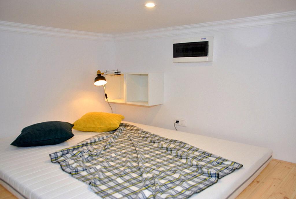 prywatna, zaciszna sypialnia w mieszkaniu do wynajmu Wrocław Śródmieście