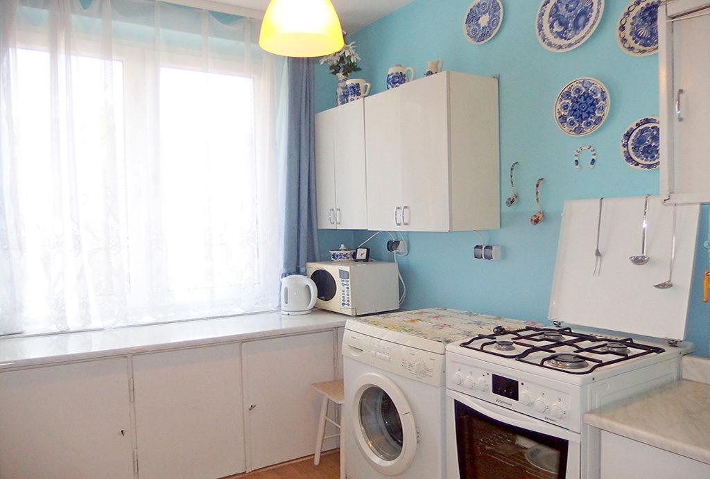 umeblowana kuchnia w mieszkaniu do sprzedaży Wrocław Krzyki