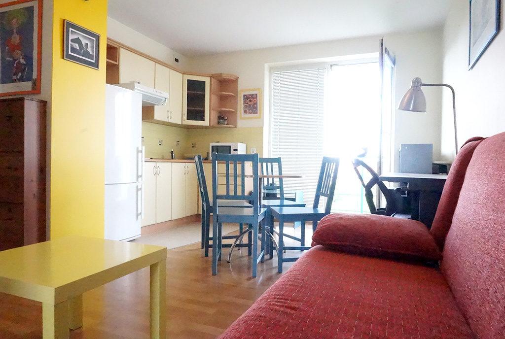 komfortowy salon w mieszkaniu do wynajęcia Wrocław Stare Miasto