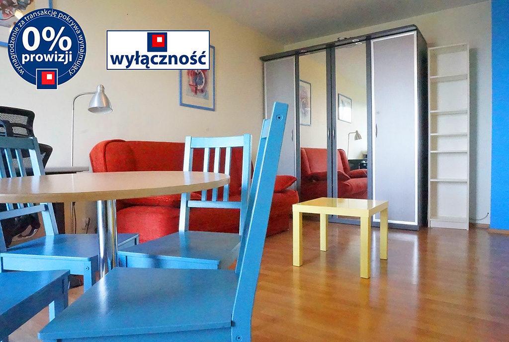 kuchnia oraz jadalnia w mieszkaniu na wynajem Wrocław Stare Miasto