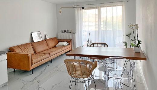 elegancki salon w mieszkaniu do wynajęcia Wrocław Stare Miasto