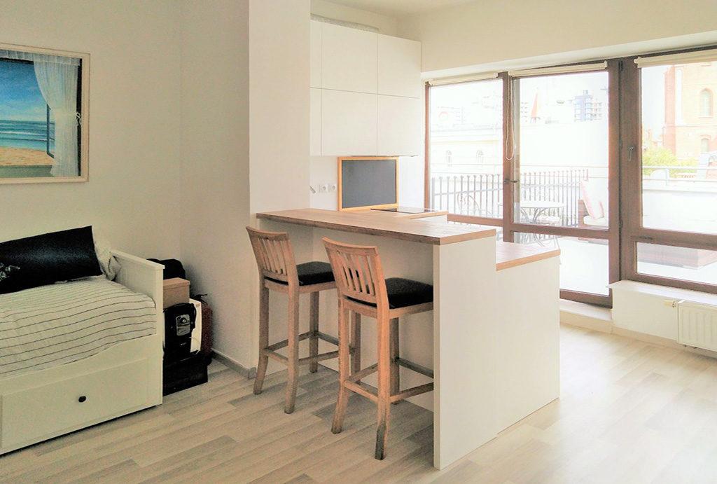 zdjęcie prezentuje elegancki pokój w mieszkaniu do sprzedaży Wrocław Stare Miasto